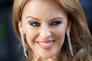 Pop star and actress Kylie Minogue at the UK premiere of the film Holy Motors. Photo / AFP