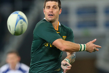 Morne Steyn's woeful goalkicking probably cost South Africa a victory. Photo / Getty Images