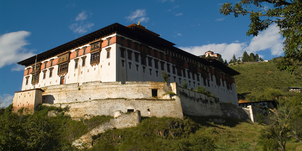Bhutan's Paro dzong. Photo / Thinkstock
