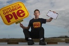 Grant Duffield is putting a petition together, to bring back Georgie Pie. Photo / Bay of Plenty Times