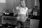 Jennifer Aniston shows off her 'pregnant' belly in a new ad. Photo / YouTube