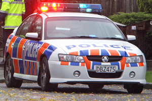 A man in his early 20s died and three other people were injured after they were struck by a car in Hornby on Saturday night. Photo / File