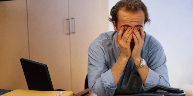 Work related stress is on the rise in NZ, says a new survey. Photo / Thinkstock