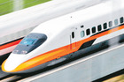 Taiwan's new rail service offers visitors a speedy alternative to domestic air travel. Photo / Reuters