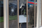 A disgruntled client allegedly used a hammer to smash windows at Work and Income in Kaikohe. Photo / Northern Age