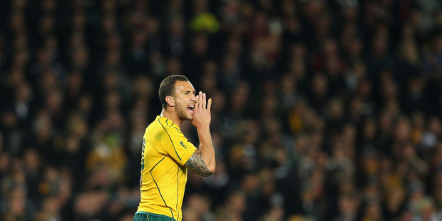 Quade Cooper may be off. Photo / Getty Images