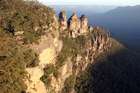 The Blue Mountains' &quot;Seven&quot; Sisters - well, the three that remain at least. Photo / Thinkstock