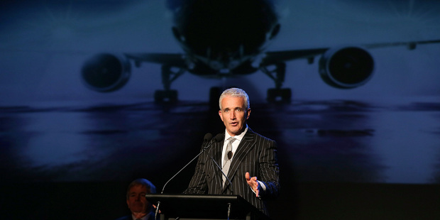 Outgoing chief Rob Fyfe says Air New Zealand is well positioned to achieve growth while other airlines struggle. Photo / Getty Images