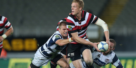 Auckland beat Counties Manukau on Friday but Baden Kerr still impressed for the losing team. Photo / Getty Images