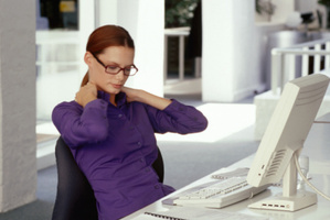 Too much time behind a desk damages your butt muscles. Photo / Thinkstock