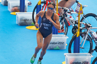 Andrea Hewitt returns to action in the ITU World Triathlon Series tomorrow. Photo / Mark Mitchell