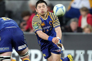 The best for Otago was Japanese halfback Fumiaki Tanaka. Photo / Getty Images.