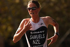 Nicky Samuels scored a dominating wire-to-wire victory on Saturday evening NZT in Tongyeong, Korea. Photo / Getty Images.