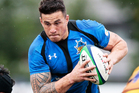 Sonny Bill Williams of the Panasonic Wild Knights in action during the Rugby Top League match between Panasonic Wild Knights and NTT Communications Shining Arcs. Photo / Getty Images.