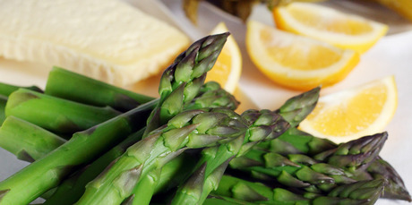 Asparagus are great fresh, or can be pickled. Photo / Doug Sherring