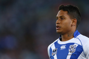 Ben Barba of the Bulldogs. Photo / Getty Images