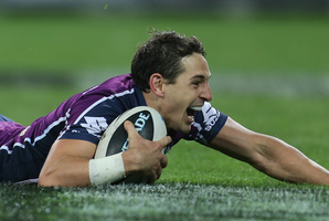 The Storm's Billy Slater is one of the best performers in big games.  Photo / Getty Images