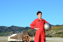 Actor Edward Hall as Ben in New Zealand film Kiwi Flyer. Photo / Supplied 