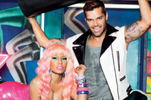 Nicki Minaj and Ricky Martin for M.A.C Viva Glam. Photo / Supplied