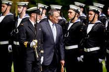 Leon Panetta says a policy change would further strengthen the NZ-US relationship. Photo / Dean Purcell