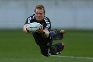 Sam Cane could be anointed All Black openside flanker in the absence of Richie McCaw. Photo / Getty Images