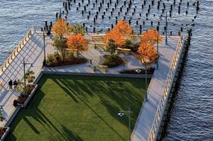 A pier of the Hudson River in New York City. Photo / Supplied