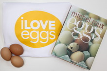 Enter the draw to win Michael Roux's eggs cookbook. Photo / Supplied
