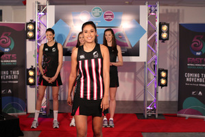 The selected Fast5 Ferns are Anna Harrison, Kayla Cullen, Bailey Mes and Maria Tutaia. Photo / Michael Bradley