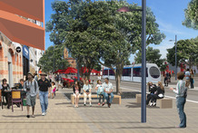 Quay St will have wider pavements and more crossing points. Photo / Supplied