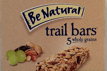 Be Natural Trail Bars, nut and fruit - $3.99 for 6 bars Photo / Supplied