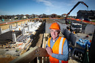 Developer Peter Macleod is building 56 apartments on Murphys Road in Flat Bush, South Auckland. Photo / Dean Purcell.