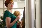 Mad Men's Christina Hendricks is nominated for best supporting actress. Photo / Supplied