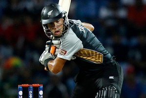 Ross Taylor admits he should have batted higher than No 6. Photo / AP
