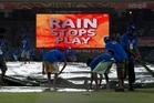 Rains have already cut short games in Colombo and other parts of Sri Lanka this season. Photo / AP