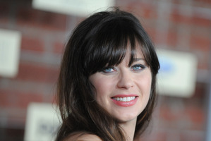 Zooey Deschanel has been nominated for an Emmy. Photo / AP