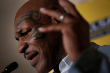 Mike Tyson. Photo / AP