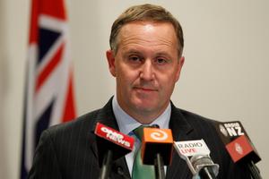 Prime Minister John Key.