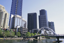 Melbourne's waterfront Docklands. Photo / Supplied