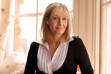 JK Rowling has a dig at the British class system in her new book. Photo / Supplied