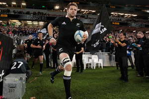 Richie McCaw. Photo / Brett Phibbs