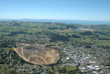 Production from Waihi is likely to be around 70,000oz this year compared to 100,000oz in a good year. Photo / APN