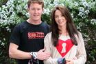 Scott Dixon and his wife, Emma Davies-Dixon. Photo / Sarah Ivey