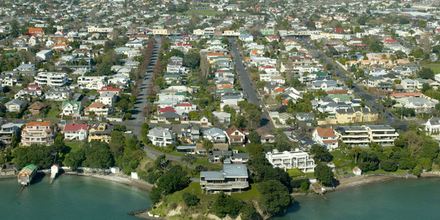 Productivity Commission blames restrictive land supply for high housing prices in New Zealand. Photo / Brett Phibbs