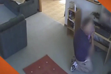 A cleaner commits an indecent act in a customers home as captured by the TV3 programme Target Photo/ TV3 
