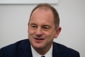 Labour leader David Shearer. Photo / BOP