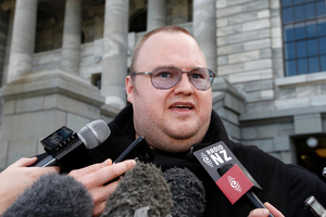 The latest twist in the Kim Dotcom saga will illustrate for some the dangers of New Zealand cosying up too closely to the Americans. Photo / NZ Herald