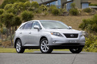 Driven recommends: The Lexus RX350 Limited is great value second-hand but choose carefully.