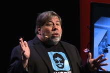 Steve Wozniak. Photo / Phillip Davis 