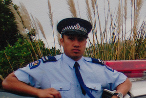 New Zealand police officer Kali Fungavaka. File photo / supplied