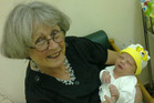 Julie Ferne died after falling down stairs while holding her four day old grandson Carter Preston. Photo / File